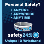 Safety 24 Wrist Band